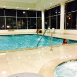 Indoor heated pool area