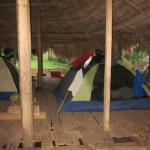 Camping at Embera Village