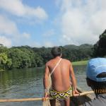 Embera Village Guide to Water fall