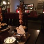 The hanging kebab from the new menu....delicious!