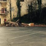 Parkview Inn parking area