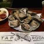 Apalachicola Oysters at The Owl Tap Room