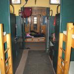 Inside of caboose