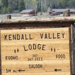 Main Sign with Lodge in background