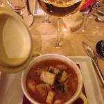 Zuppa broccoli ed arzilla