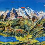 Interlaken/Oberland map