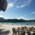 Thong Nai Pan Yai Beach from White Sand Bungalows