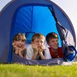 Camping family fun