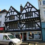 Tudor style overhang