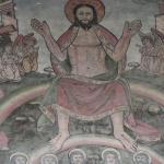 Mural in St Thomas's Church