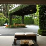 Outside sitting area at Lobby entrance
