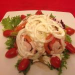 Салат тунец!)