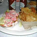 Lobster Roll with House Made Potato Chips