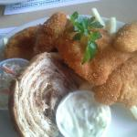 Blue Gill fish special at Ivees