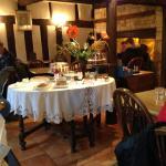 tearoom on High Street, 5-minute walk away