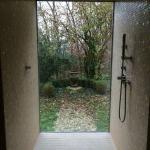 Dusche im Wellness/Saunabereich