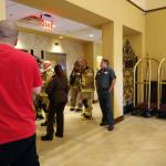 Elevator fire