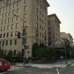 Jefferson Hotel from the main street