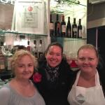 "Sarah (left) & Katherine (right), sisters and owners of award-winning gluten-free ""Oscar & Bentl"