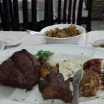 Carnes tostadas demais...e não  foi o solicitado