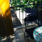 Vista da nossa querida varanda.