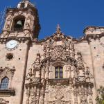 facade of Iglesia de San Cayetano