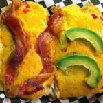 """4"""" Southern Lady Pimento Cheese with Avocado and Bacon"""