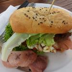 Yummy.. steak sandwich.