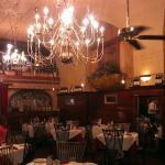 Dining room at Belle Arti