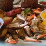 Blue Point Crab Claw Dinner