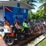 Our shop in Kavera, Rarotonga, Cook Islands