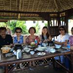 Urdanetanians having lunch at Ciudad Elmina in Dagupan.
