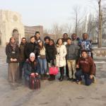 Chinese Teachers and classmates