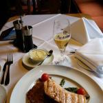 Salmon Steak in Sheraton - fantastic