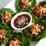 Miang Kam, Finger food snacks on betel leaves