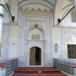 Caminin girişi
