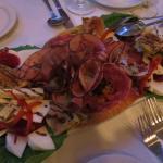 Antipasto salad appetizer