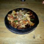 Hot plate mit chicken - Super lecker, frisch und günstig wie immer bei funky fish !