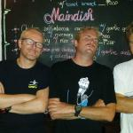 The specials board obscured by Movember Males