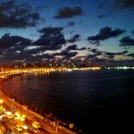 Viw of Alexandria from the balcony