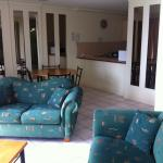 Living area 9th floor room 957