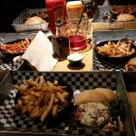 """Typical meal at """"The Works"""""""