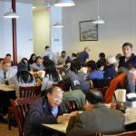 Asian clientele in abundance here.