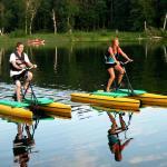 Water Bike Fun!