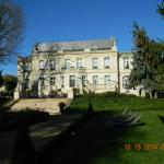 View of Chateau from the garden