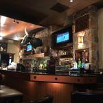 Longhorn at bar!