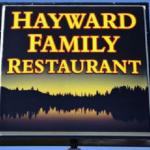 Hayward Family Restaurant Sign