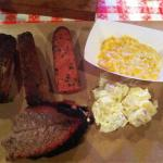 The brisket and corn were tops!!!