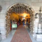 entrada do Hotel e recepçãp