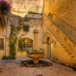 Palazzo Falson Courtyard